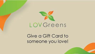 LOV Greens Gift Card