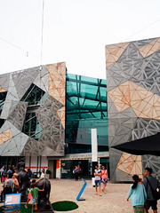 Melbourne - Federation Square (square(tea)) Tags: australia federationsquare melbourne olympus victoria   em5