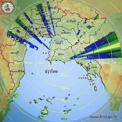 ลักษณะอากาศทั่วไป  เมื่อเวลา 10:00 น.วันนี้ บริเวณความกดอากาศสูงที่ปกคลุมประเทศไทยตอนบนและทะเลจีนใต้มีกำลังอ่อนลง ทำให้บริเวณดังกล่าวมีอุณหภูมิสูงขึ้นโดยทั่วไป และมีฟ้าหลัวในตอนกลางวัน แต่ยังคงมีอากาศหนาวเย็นในตอนเช้า ในบริเวณภาคเหนือ และภาคตะวันออกเฉียงเ
