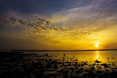 Taiwan,Penghu─Sunset (Johnson Hung) Tags: ocean sunset sea sky cloud sun nature weather canon roc eos taiwan formosa 台灣 風景 penghu 澎湖 makung 馬公 450d canoneoskissx2 sceneryofpenghu