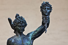 Perseus with the Head of Medusa - Florence, Italy (Thomas Leplus) Tags: world street city trip travel light vacation urban italy sculpture holiday color colour cute travelling tower art monument colors architecture bronze geotagged fun photography photo florence funny holidays colorful italia day colours photos head geocoded famous tuscany firenze colourful piazza medusa vacations italie perseus cellini piazzadellasignoria loggia loggiadeilanzi testa signoria geotagging perseo lanzi benvenuto geocoding camera:make=canon exif:make=canon exif:exposure=0003sec1320 exif:aperture=f28 camera:model=canoneos5dmarkii exif:flash=offdidnotfire exif:lens=ef70200mmf28lisusm exif:model=canoneos5dmarkii thomasleplus exif:focallength=200mm exif:exposurebias=0ev camera:lens=ef70200mmf28lisusm exif:isospeed=100 geo:longitude=11255658 geo:latitude=43769203 meta:exif=1394488160