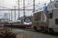 Amtrak train 97, The Silver Meteor (MIDEXJET (Thank you for over 2 million views!)) Tags: america states amtraknec northeastcorridortrain97acs64amtk600silver meteorperryvillemarylandunited