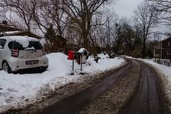 Slaskhelvete (afeman) Tags: winter snow cars weather seasons sweden sony transport vehicles uppsala toyota sverige toyotaiq rx100ii