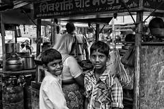 Friendship (MeriMena) Tags: travel people bw india kids faces market ngc smiles rajasthan canon450d flickrtravelaward merimena