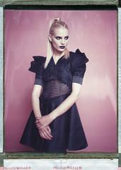 Ivana for Suna Kazic (Braca Nadezdic) Tags: portrait color fashion studio polaroid voigtlander 8x10 expired sinar 809 heliar polaroid809 polaroid8x10