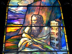 Moses, by Tiffany (yooperann) Tags: park windows chicago art church glass union hyde sacred chicagoist strained