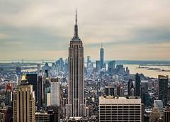 South of the Rock (John St John Photography) Tags: newyorkcity newyork color skyline manhattan south streetphotography rockefellercenter empirestatebuilding lowermanhattan topoftherock nycskyline gebuilding verrazanonarrowsbridge oneworldtradecenter