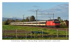 Re 460 029-2 - Founex (CC72080) Tags: train sbb locomotive cff re460 founex interrégio