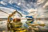 My day (Nejdet Duzen) Tags: trip travel sea reflection turkey boat cloudy türkiye deniz sandal izmir yansıma turkei seyahat kayık bulutlu inciealtı