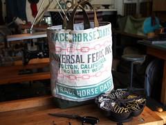 Steelhead Fine Goods (SteelheadFineGoods) Tags: vintage feedsack feedbag totebag steelheadfinegoods