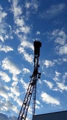 THE big CRANE - 20140420_19-26-41 pm,  Abends (eagle1effi) Tags: sky clouds handy bestof crane cellphone samsung smartphone galaxy fotos kran android bestofflickr s5 bonlanden handycamera eagle1effi ishotcc samsunggalaxys5 galaxys5 flickr30app samsungsmg900f