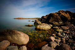 Havsvidden, Åland (Marc Arnoud Rogier van der Wiel) Tags: åland nikon sea rocks lee filters wwwvisitalandcom stone sky httpsrbphotographiccouk outdoor rock baltic finland suomi water clouds
