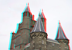 Amsterdamsepoort Haarlem 3D