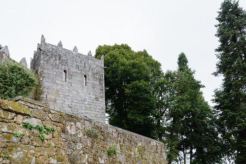 Castillo de Soutomaior, torre