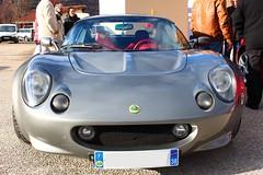 Lotus Elise 1999 (alex73s https://www.facebook.com/CaptureOfAlex?pnr) Tags: auto english car canon automobile european lotus elise transport meeting automotive 1999 voiture coche british macchina vehicule grise rassemblement anglaise europeenne
