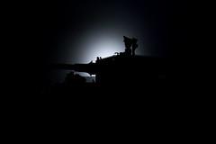 Night March (Adam Purves (S3ISOR)) Tags: brick soldier tank lego military tiger bricks wwii ii german ww2 block worldwar cobi panzer kingtiger wermacht knigstiger panzerkampfwagen