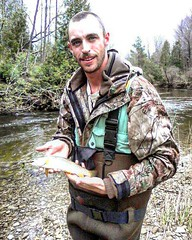 Brook trout (Ontario_BWO) Tags: outdoors fishing brook trout fish spring
