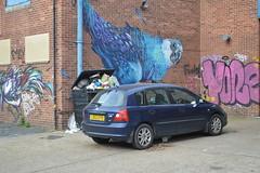 Big budgie (Matt From London) Tags: hackneywick streetart graffiti budgie budgerigar bird