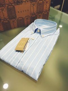 Camicia Xacus tessuto Albini altissima qualità