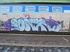 069 (en-ri) Tags: iorr hum crew azzurro train genova zena graffiti writing viola