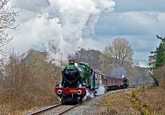 the zulu (midcheshireman) Tags: steam train locomotive llangollen wales railway 6960 raveninghamhall zulu