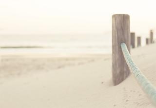 en la arena...
