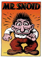 R. Crumb Trading Cards - Mister Snoid (oerendhard1) Tags: art robert illustration comics underground cards comic drawing humor cartoon collection trading comix characters crumb rcrumb stripverhaal snoid undergroundcomics stripfiguur oerendhard mistersnoid