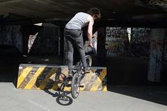 Southbank BMX (dorsetbays) Tags: london bike sport graffiti bmx action southbank skatepark skateboard skateboarder stunt bmxbike southbankcentre undercroft 2013