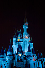 IMG_5679 (onnawufei) Tags: castle night disney disneyworld wdw waltdisneyworld magickingdom cinderellascastle