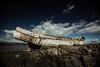 Svanurinn (SteinaMatt) Tags: old blue sea west matt boat iceland ship shore skys ísland steinunn steina vesturland matthíasdóttir bátursvanursvanurinn