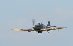 Hawker Hurricane (Jez B) Tags: world show 2 plane airplane wings war fighter display aircraft military air hurricane wwii wheels aeroplane ii ww2 hawker dunsfold