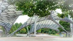 Lightness (Rafael Eufrasio) Tags: light architecture munich sony structures otto olympic frei nexc3