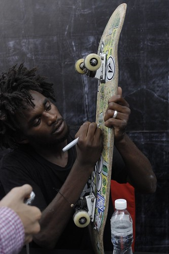 Skate Exhibition - Cyril Jackson Signing