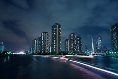 Sumidagawa highway (Zengame) Tags: 35mm tokyo sony 東京 sumidariver 隅田川 ソニー rx1 starstax rx1r