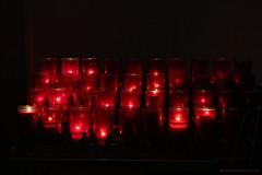 Candles Flickering, Our Prayers Remembered (marylea) Tags: may7 2012 stthomastheapostlecatholicchurch stthomasaa catholic symbols faith annarbor candles red michigan stthomastheapostlechurch catholicchurch romancatholic stthomas spierrohns frederickhspier williamcrohns church