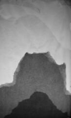 Sumi-e? (FfotoMarc) Tags: mist mountains art paper photography silhouettes craft lantern allrightsreserved sumie celf ffotograffiaeth dylunio foundationartdesign llusern universityofsouthwales prifysgoldecymru cedwirpobhawl copyrighthawlfraintmarcevans2013