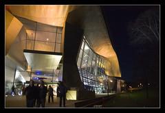 BMW Welt @Monaco (brunombo) Tags: travel blue winter building metal night germany mnchen lights europa pentax blu monaco bmw luci tamron inverno costruzione viaggio notte germania baviera europ monacodibaviera bmwwelt tamronaf18250mmf3563diiildasphericalifmacro justpentax