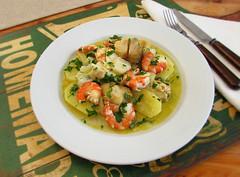Cod stew with shrimps - Food From Portugal (Food From Portugal) Tags: food portugal stew comida shrimp cod camarões bacalhau guisado