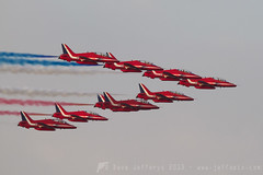 RAF Red Arrows in Bahrain 10Nov13 (JaffaPix +3 million views-thank you.) Tags: airplane hawk aircraft airshow redarrows raf airdisplay royalairforce formationflying displayteam flyingdisplay jaffapix davejefferys
