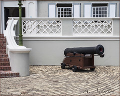 """Ready, Aim, . . . ."" (A Anderson Photography, over 1 million views) Tags: travel architecture canon bahamas oldbuilding touristsites nikcolorefexpro oldandbeautiful countrybackroads"