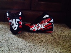 Size 6 Red Intensity's (hfbrown125) Tags: shoe cool wrestling nike og asics rare oe intensity teals rulon inflict kolats