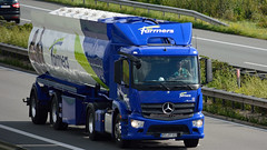 D - For Farmers MB Antos 1835 (BonsaiTruck) Tags: farmers silo camion trucks mb bulk lorries lkw antos spitzer citerne powdertank