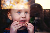 Squish (tanya_little) Tags: reflection window childhood canon ginger kid child desert blueeyes nevada lifestyle sierra redhead nv reno sparks redhair cutetoddler t2i tanyalittle