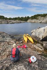 Paddeltur p Nttar (Anders Sellin) Tags: sea summer vacation relax sweden stockholm balticsea baltic sverige semester archipelago sommar stersjn skrgrd avkoppling  sommar nttar