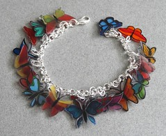 charm 007 (bdbear10) Tags: handmade plastic bracelet chacha charms shrink xocc