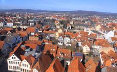 Blick von der Marktkirche auf Hameln 07 (Stefan_68) Tags: city roof germany deutschland town stadt dach hamelin niedersachsen lowersaxony hameln