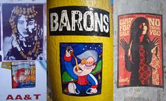 No Thank You War Barons - 03/25/2014 (Mr. MumbleJinx) Tags: usa streetart art stickerart pittsburgh stickers mumblejinx