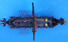 LEGO - Viking - Valhalla's Vengeance (Slayerdread) Tags: boat ship dragon sail oar shield viking norse