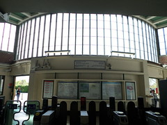 SAM_1837 (Analogue_Dreaming) Tags: travel london art station architecture photography modernism londonunderground deco perivale streamlinemoderne