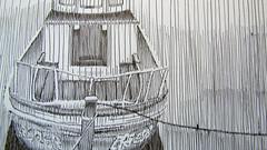 lluviadetalle (catalinacornejoguevara) Tags: detalle barco draw dibujo lineas lapizpasta llovido